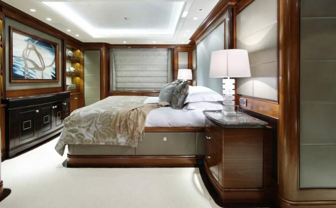 Superyacht SEANNA - Master suite