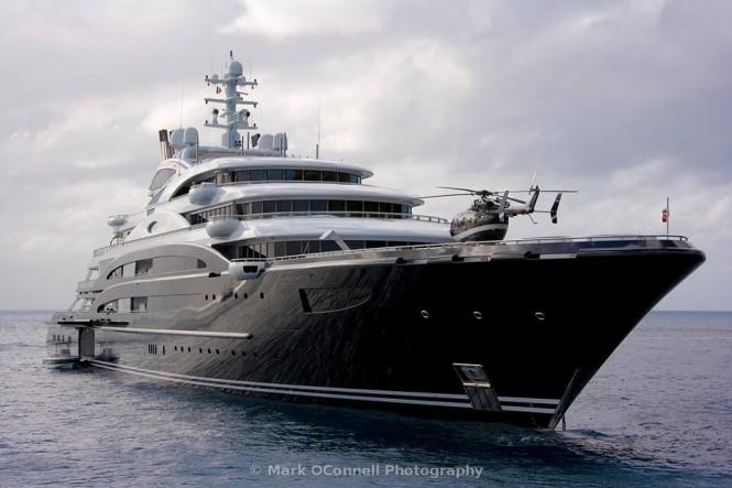 Superyacht Serene. Photo credit Mark Oconnell