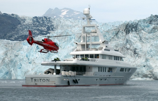 Triton and Helicopter