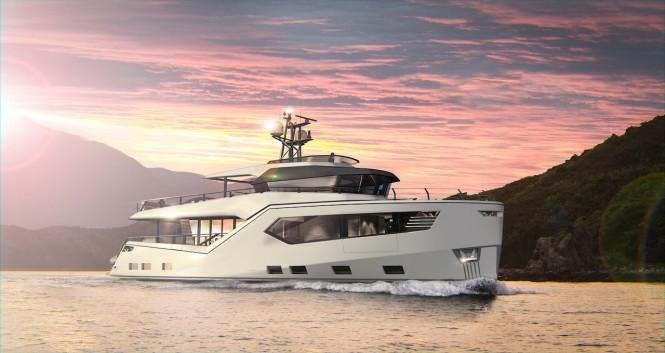 Vripack & Evadne Motor yacht Rock - exterior