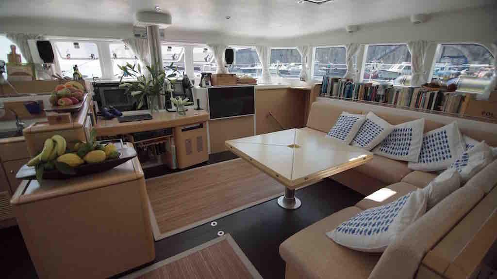 Yacht OMBRE BLU - Salon
