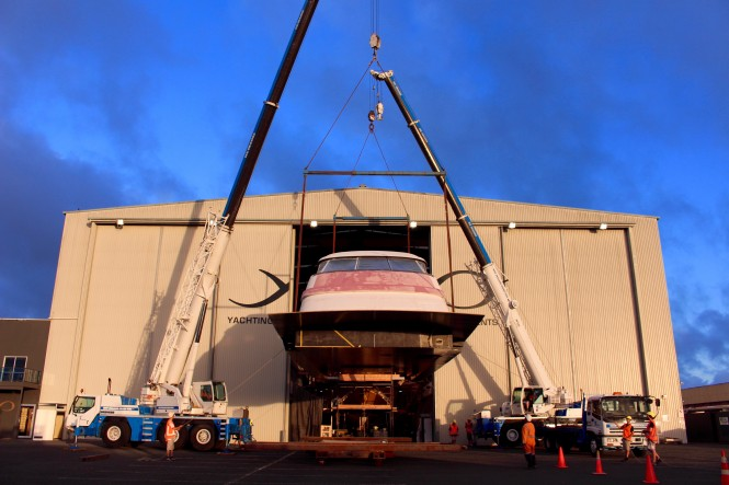 Yachting Developments New Zealand - motor yacht Hull1015