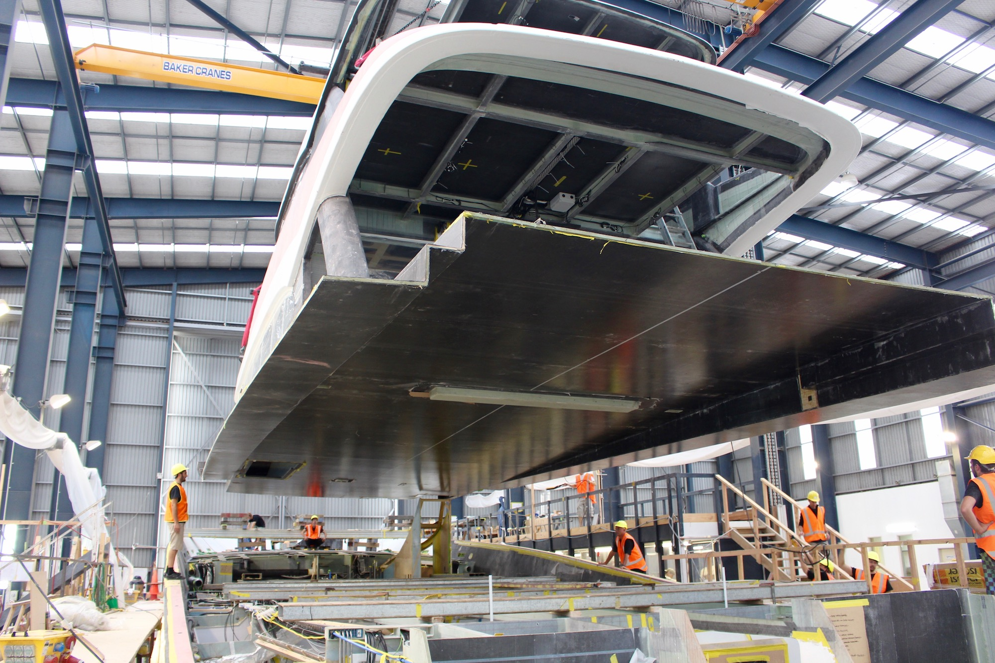Yachting Developments New Zealand - motor yacht Hull1015 - to be launched in 2017