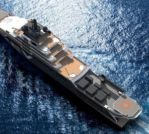 The New 182m Mega Yacht Designed by Espen Oeino to be Built at VARD