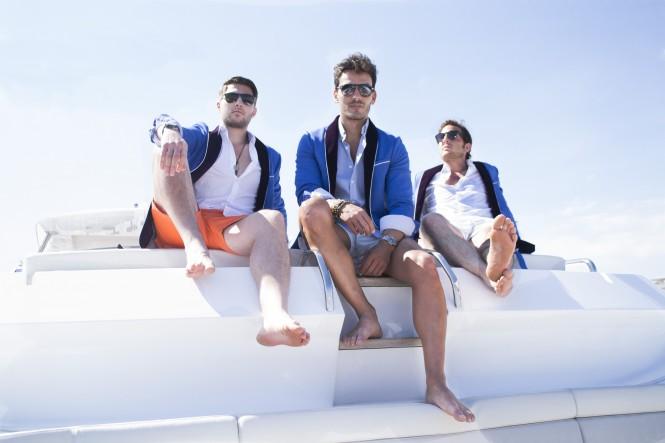 209 Mare - boys sporting the new art-deco-inspired blazer