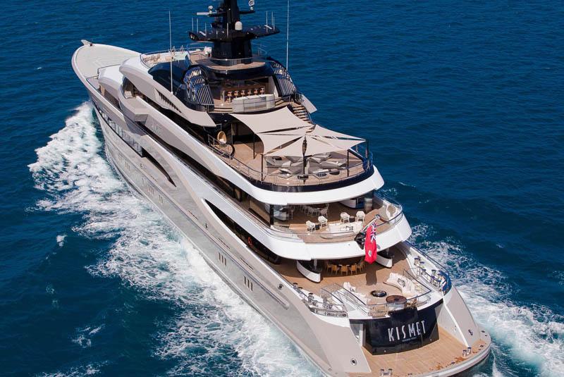 Lurssen Superyacht Kismet — Yacht Charter & Superyacht News