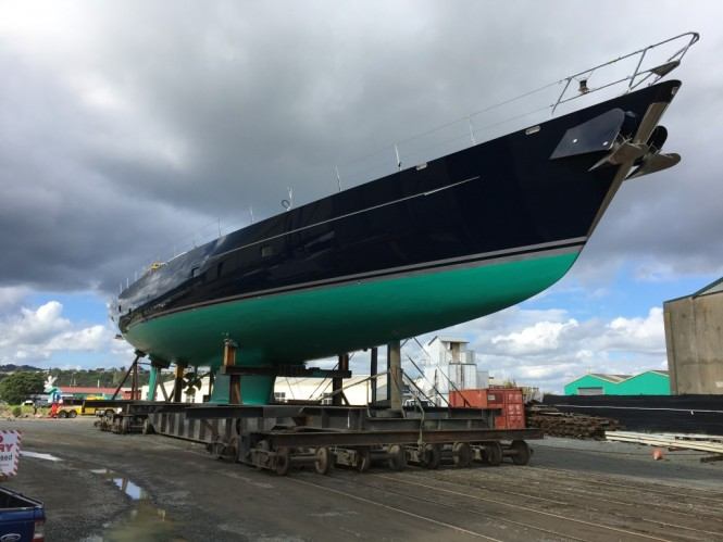 43M Superyacht Bella Ragazza Ready for Launch at Oceania Marine Shipyards