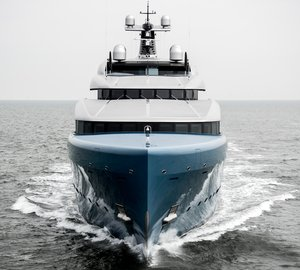 Official Images: 98m Superyacht Aviva Delivered