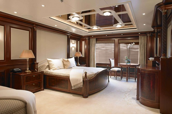 ANNA VIP stateroom - Photo credit Feadship