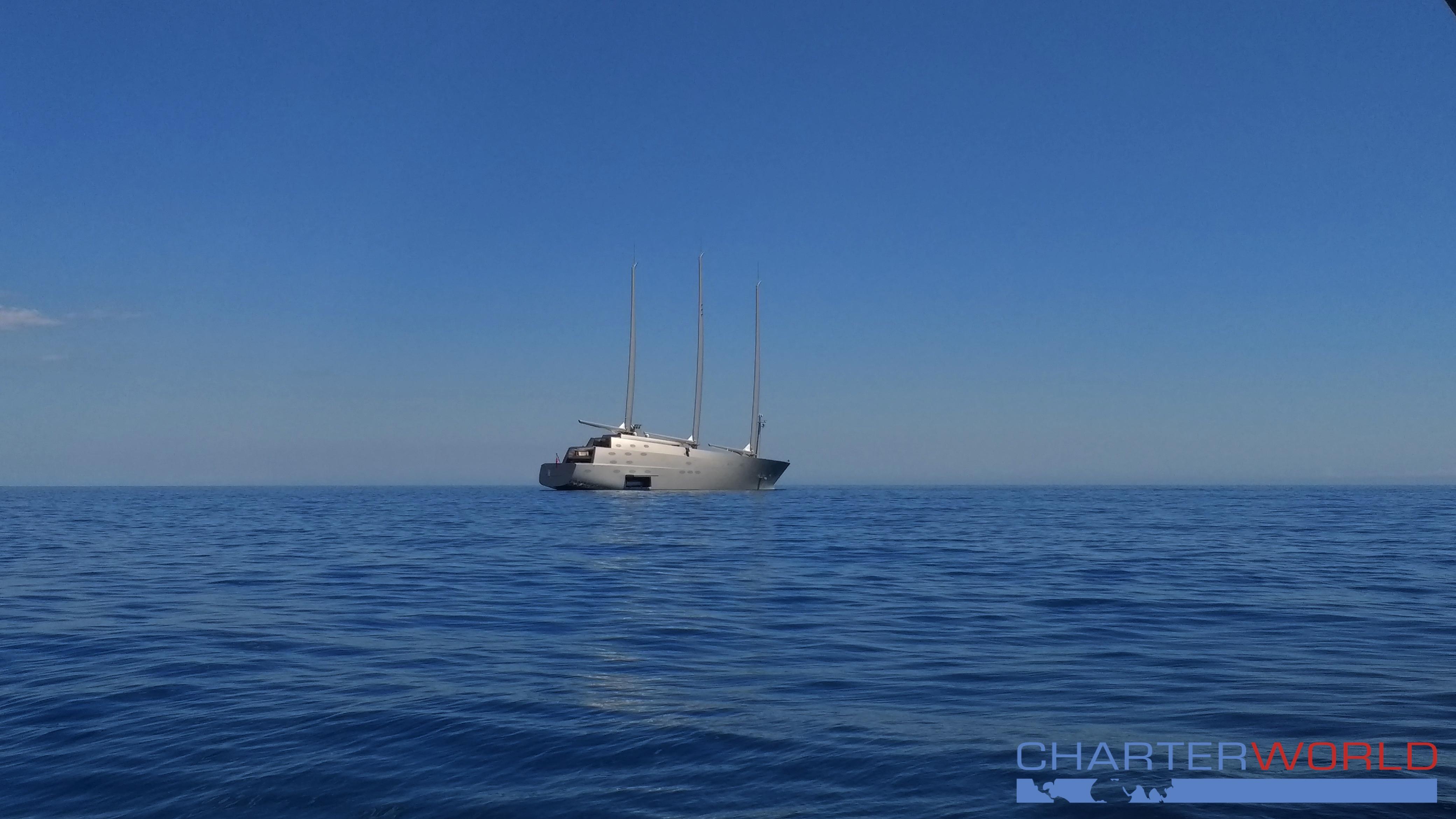 Andrey Melnichenko's Sailing Yacht A. Photo credit Nicolas Benazeth.CharterWorld