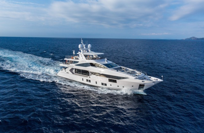 Benetti Vivace 125. Photo credit Quin Bisset
