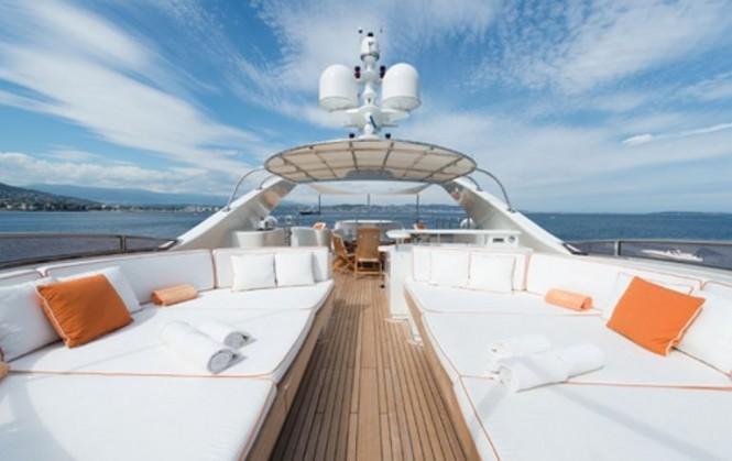 Blue Vision sun deck