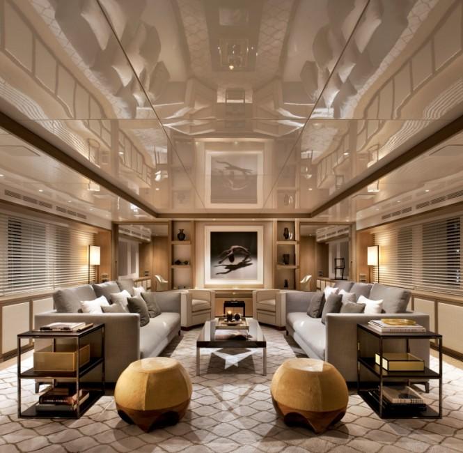 CMB luxury yacht ORIENT STAR - Main salon