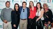 CharterWorld Senior Brokers Nicolas Benazeth, Martha Lukasik, Josh Burdett, Reia Stannard, Trina Howes and Amanda Brilliante attending the MYBA Yacht SHow