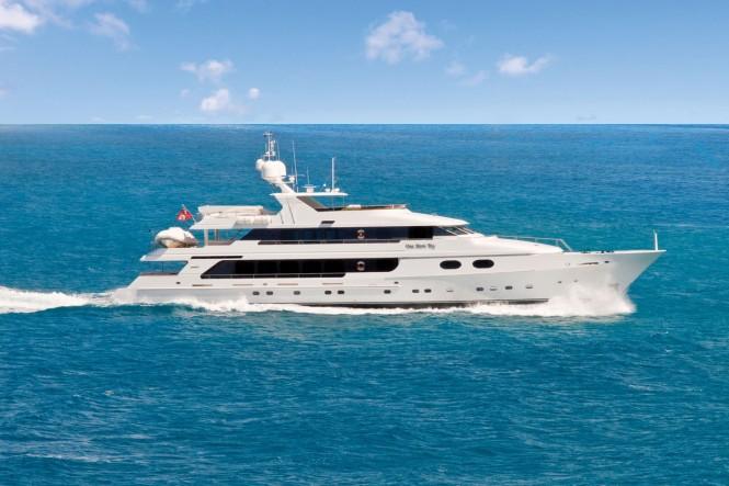 Christensen superyacht ONE MORE TOY