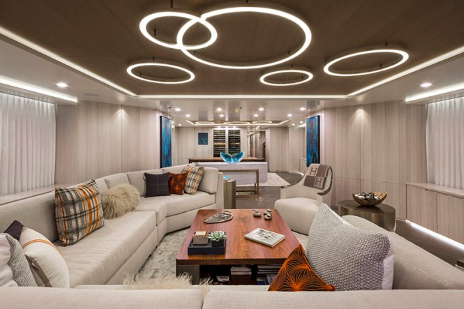 Feadship yacht BROADWATER - Main deck salon
