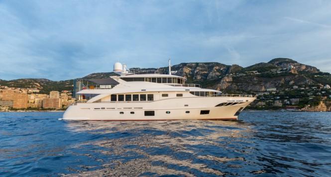 Filippetti Navetta 30 superyacht GATSBY