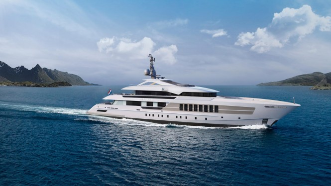 Heesen Yachts Project Antares