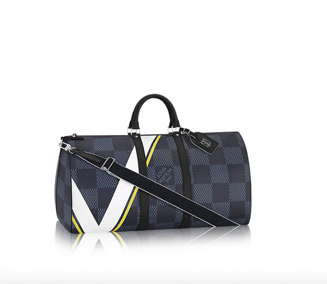 LV - Travel Bag Keepall 66 BANDOULIÈRE N44009