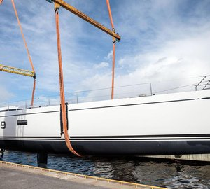 Sailing Yacht Swan 95S Named Lot 99 at the Official Launch