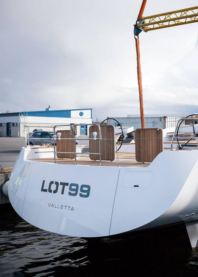Swan 95S named Lot 99 - launched by Nautor's Swan