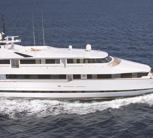 Charter luxury yacht Bella Stella in the Eastern Mediterranean