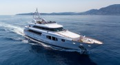 Luxury yacht BINA - Built by Mondo Marine