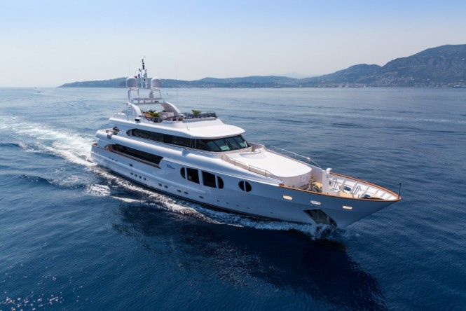 Luxury yacht BINA - Built by Mondo Marine