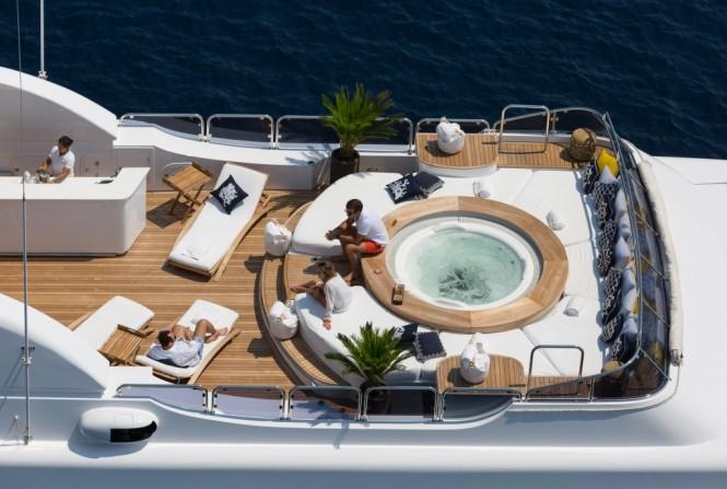 Luxury yacht BINA - Sundeck