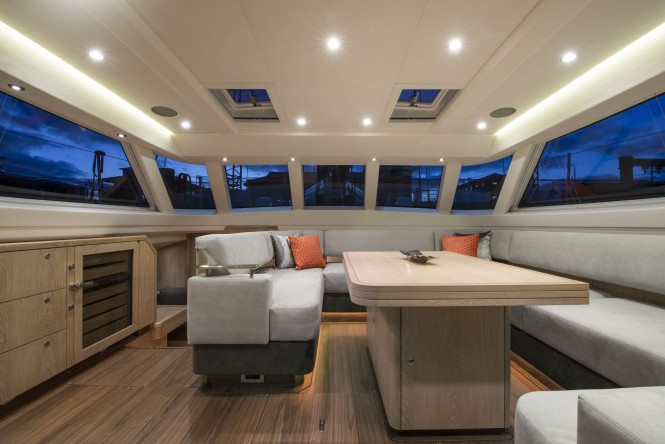 Luxury yacht FIREBIRD - Salon