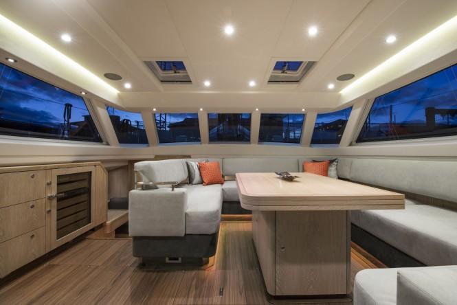 Luxury yacht FIREBIRD - Salon