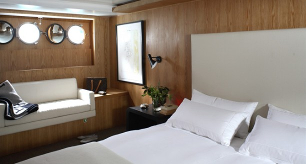 Luxury yacht HAPPY DAY - Master suite