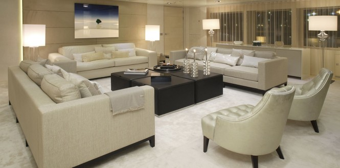 Luxury yacht ICON - Main salon
