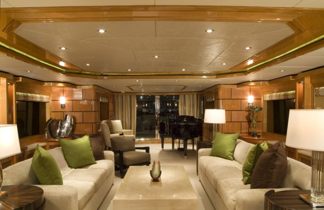 Luxury yacht IMPROMPTU - Main salon