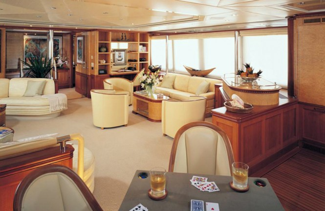 Luxury yacht KANALOA - Main salon