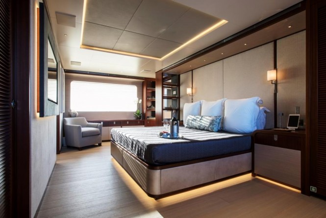Luxury yacht MOKA - Master suite