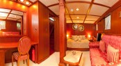 Luxury yacht SEAGULL II - Owner Cabin on lower deck