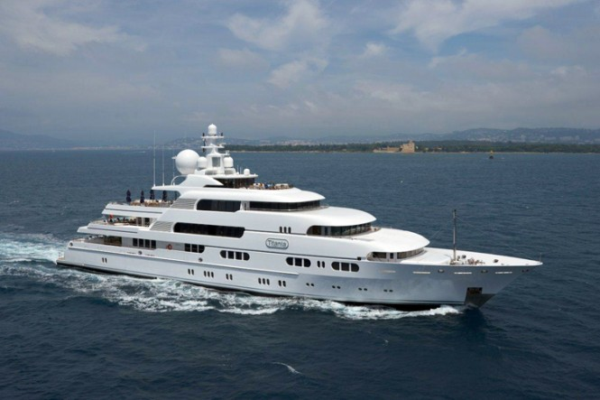 Luxury yacht TITANIA - Built by Lurssen