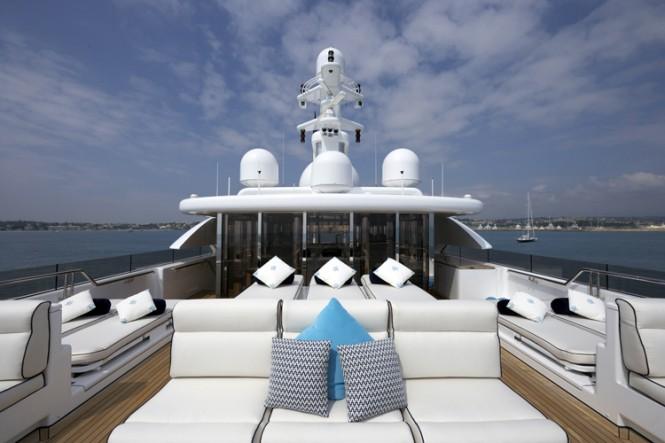 Luxury yacht TITANIA - Sundeck