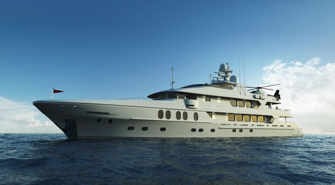 M/Y Chasseur. Photo credit mychassuer.com
