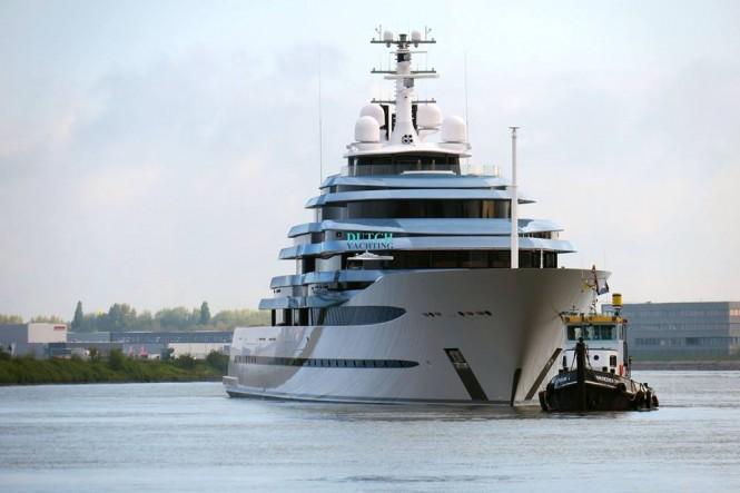 M:Y Jubilee - Oceanco. Sea trials. Photo- © Dutch Yachting & @thenauticallady