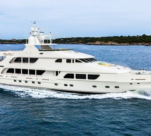 M/Y Three Forks now available on the New England charter market