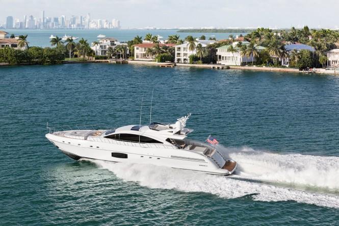 Motor yacht Mangusta 94 sold in America