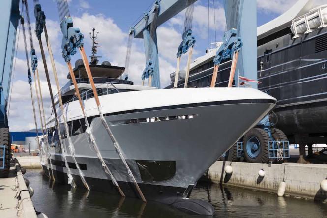 Mangusta Overmarine launched motor yacht Mangusta Oceanco 42