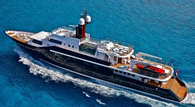 Mega yacht HIGHLANDER - Built by Feadship