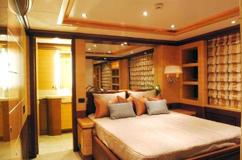 Motor yacht DIANE - VIP stateroom