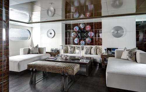 Motor yacht HIGHLANDER - Main salon