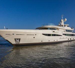 Superyacht Lili joins the Mediterranean charter market