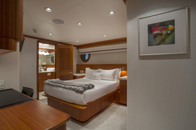 Motor yacht MARCATO - Guest cabin