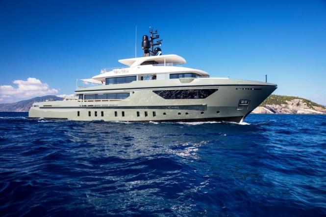 Motor yacht MOKA - Built by Sanlorenzo